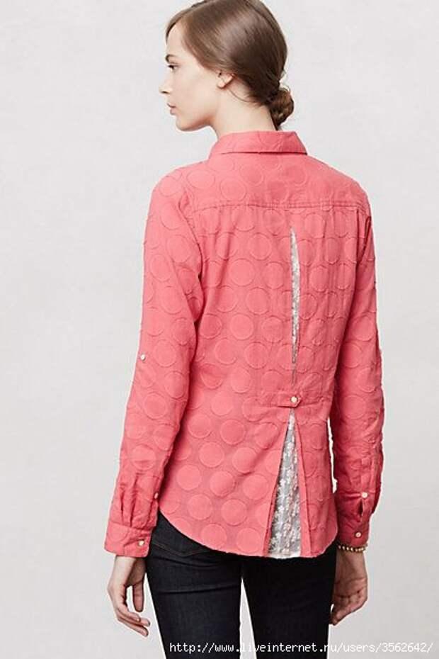 Спинка блузки