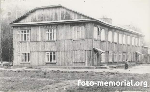 Перестроенное здание Нарымской окружной тюрьмы НКВД