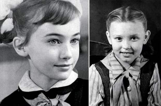 Лариса Гузеева в детстве   Фото: uznayvse.ru