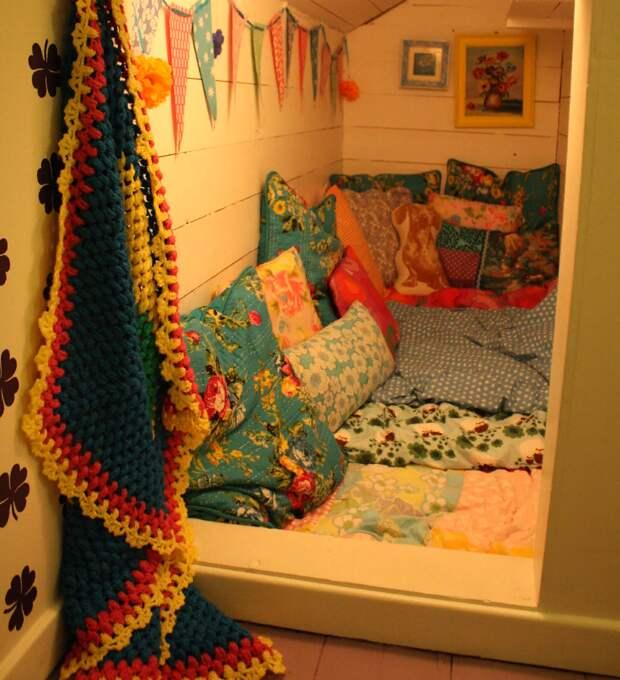 Мечта каждого ребёнка: 10 идей для организации детского пространства