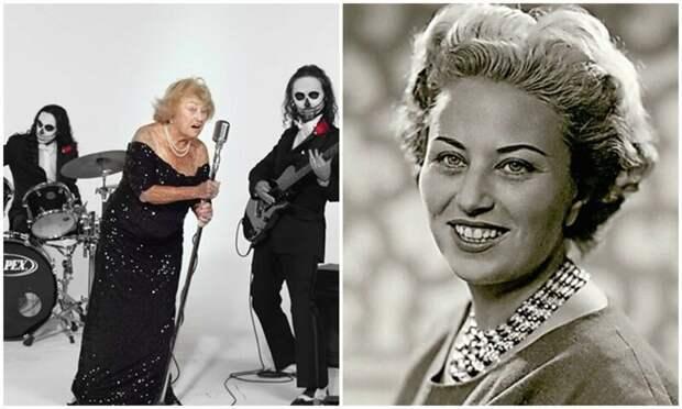 96-летняя бабуля, пережившая Холокост, теперь поет в дэт-метал группе