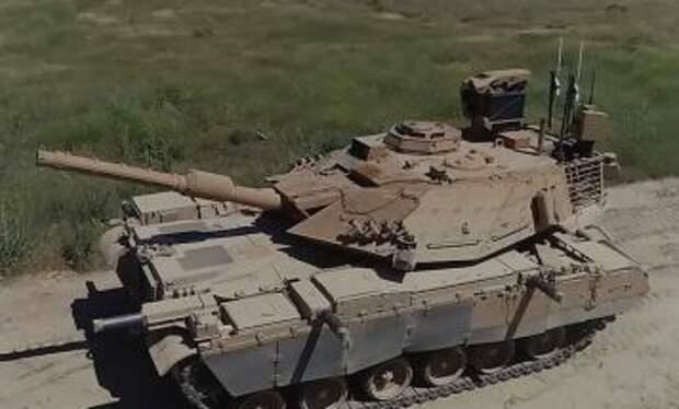 Турецкий танк М60ТМ с системой активной защиты показали на видео