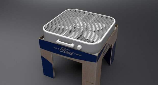 Инженеры Ford придумали действенный очиститель воздуха из картона для борьбы с вирусами