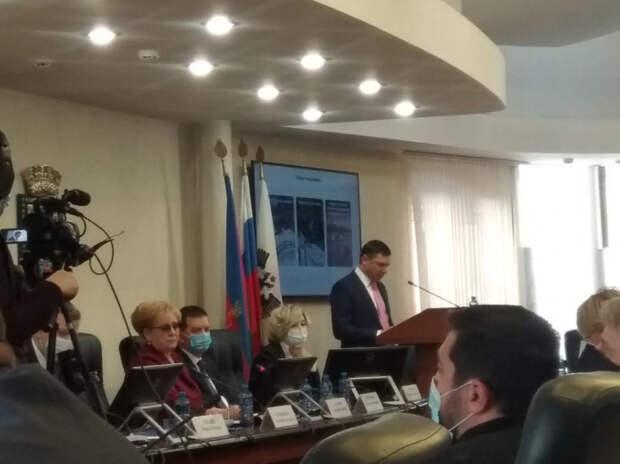 Глава Краснодара Евгений Первышов отчитывается о работе в 2020 году