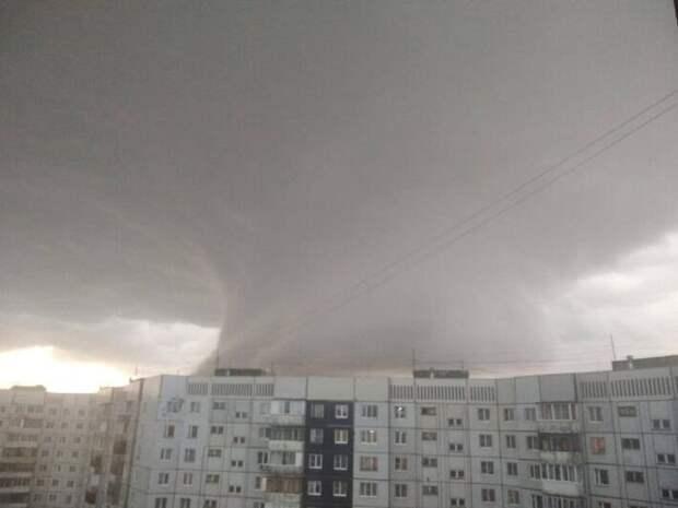 Необычное природное явление зафиксировали в Ярославле