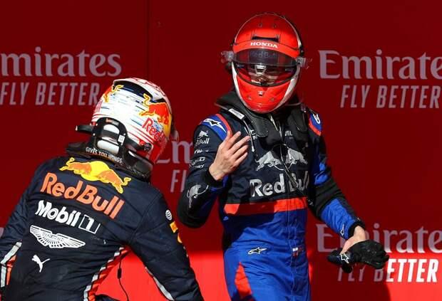 «Ты свихнулся? Я гонщик Toro Rosso». Макс Ферстаппен вспоминает замену Даниила Квята