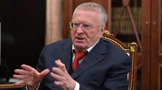 Жириновский назвал главное условие присоединения Украины к России