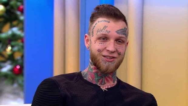 Сын Елены Яковлевой обновил татуированное лицо ко дню рождения мамы