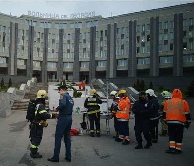 """""""Ростех"""" считает, что выводы о причинах пожаров в больницах делать преждевременно"""
