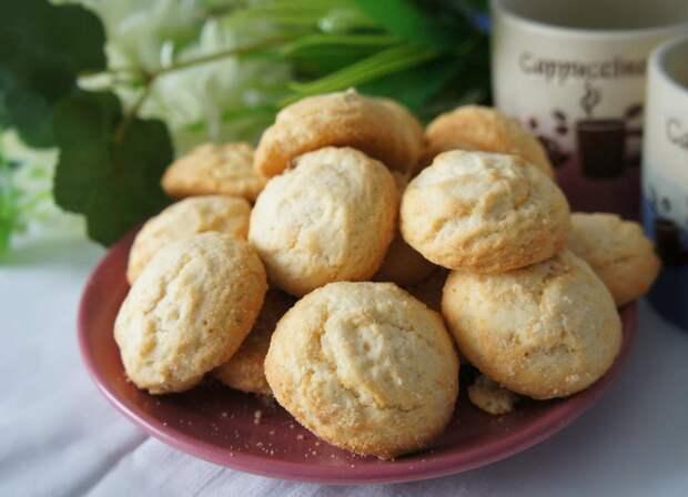 Творожное печенье за 5 минут