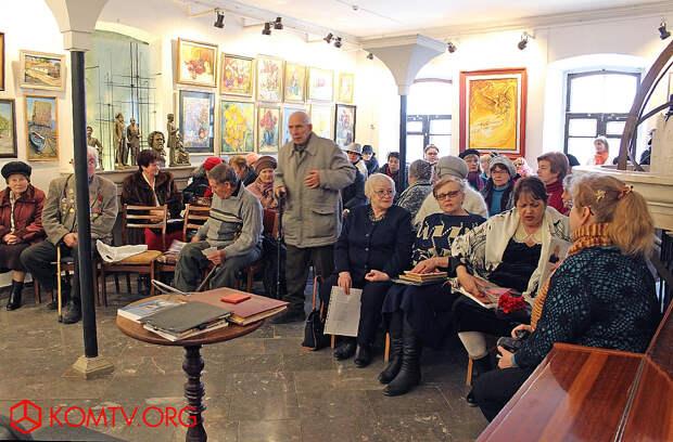 Литературная встреча в феодосийском музее Александра Грина