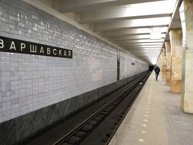 """Обновленную станцию метро """"Варшавская"""" украсят исторические панно и витражи"""