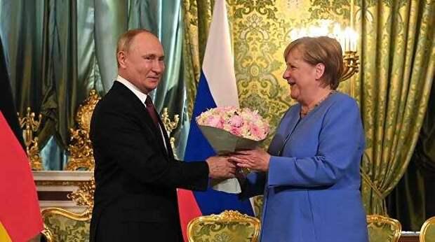 О целях и последствиях двойного визита Меркель. Ростислав Ищенко
