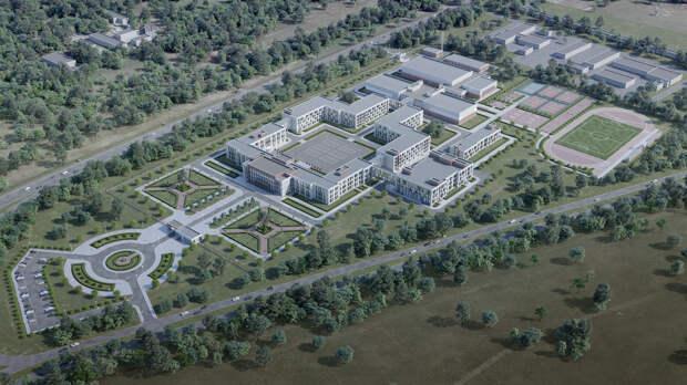 У нового кадетского корпуса в Омске сделают остановку