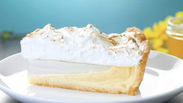 Лимонный пирог Невидимый
