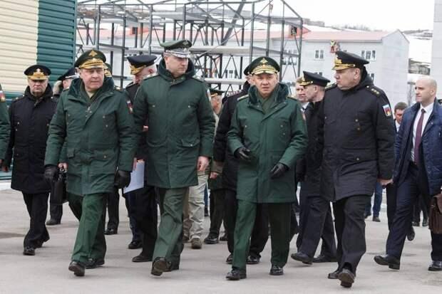 Шойгу: За три недели в западном направлении были переброшены 2 армии и 3 соединения ВДВ