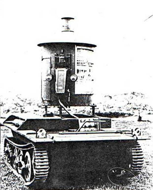 Осветительный танк, прототип 1932 года.   Фото: mag-m.com.