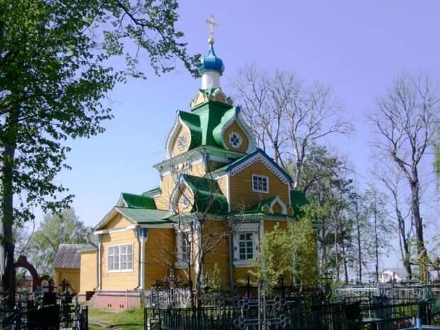 1927 (перевезена) - Церковь Введения во храм Пресвятой Богородицы - Рыжево - Егорьевский район - Московская область