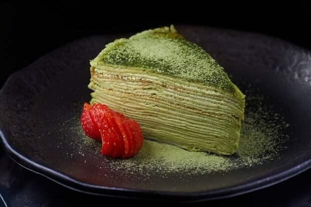 Блинный торт по-японски. Лакомство из страны восходящего солнца 2