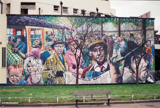 Каким был Лондон до Бэнкси: уличный арт 80‑хгодов