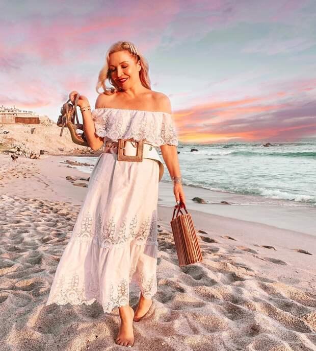 пляжные платья и туники для женщин после 40-50 лет фото 3