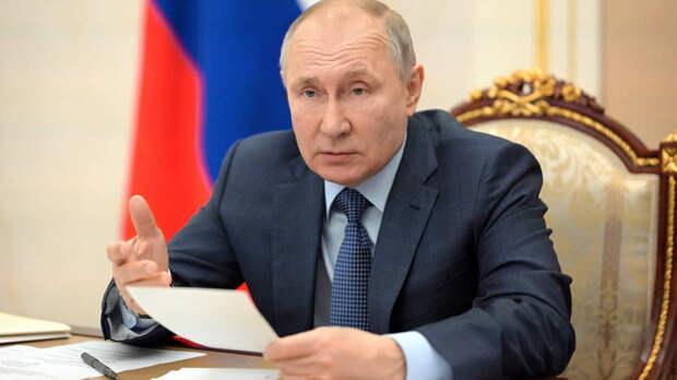 Путин призвал граждан осознать необходимость вакцинации