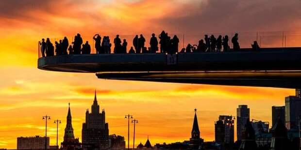 «Жаркий понедельник». Москвичей ждут теплые майские ночи