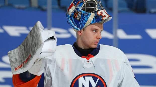 Русский вратарь избежал ссылки в фарм-клуб, а теперь непобедим в НХЛ. Сорокин повторил трюк Бобровского