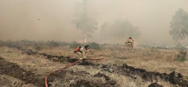 В Челябинской области локализовали пожар на площади 14 тысяч га