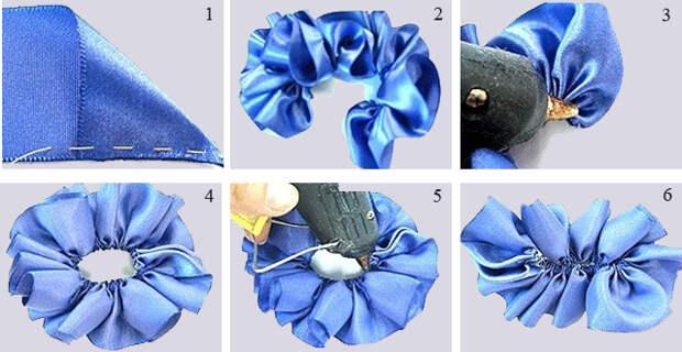 Как сделать простую розу из ленты своими руками