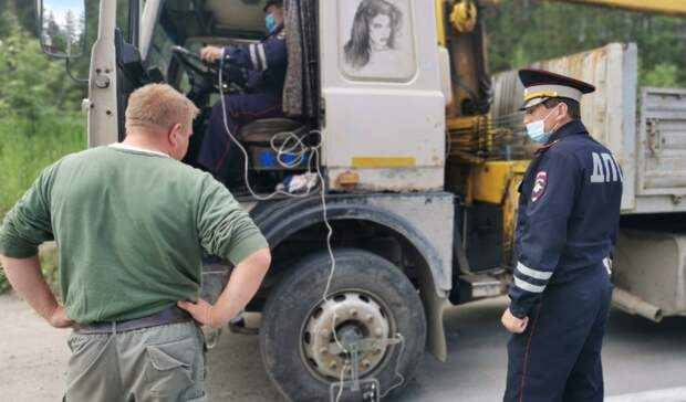 Нафедеральных трассах Свердловской области ГИБДД штрафует уставших водителей
