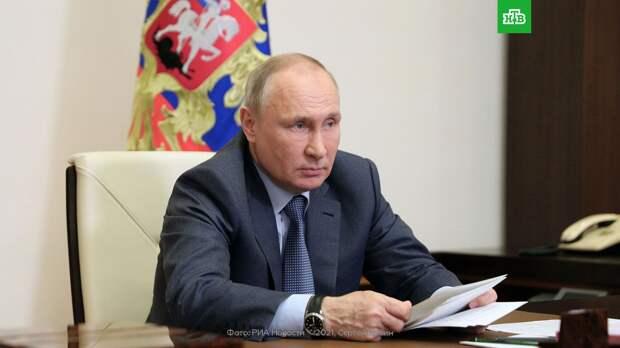 Путин и Пашинян обсудили ситуацию на границе Азербайджана и Армении