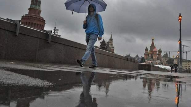 О дождях в День Победы предупредили жителей Москвы
