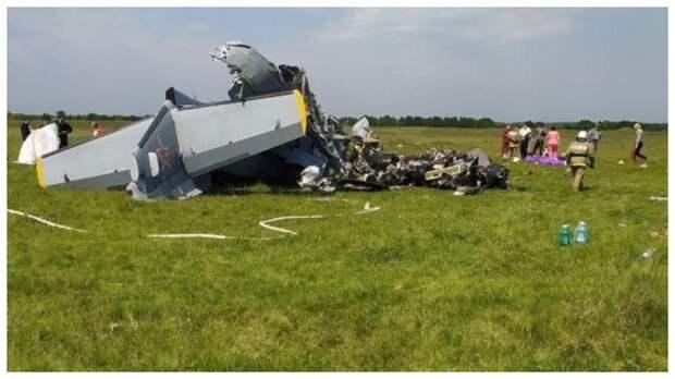При крушении самолета в Кемеровской области пострадали 17 человек