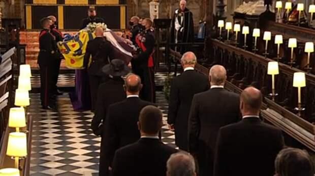 Принца Филиппа похоронили в Виндзоре