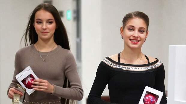 Щербакова: «Между нами с Косторной и Трусовой нет напряжения, общаемся так же»