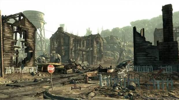 Российский аккаунт ООН разместил в Twitter кадр из игры Fallout 3