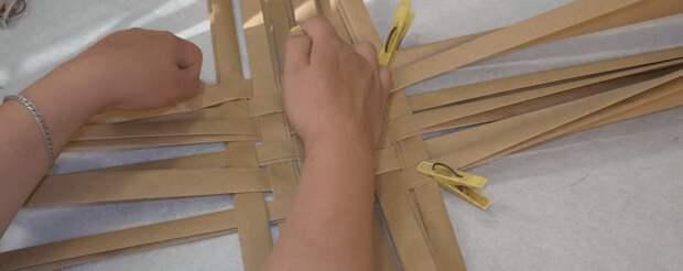 Стильные коробочки под бересту: простое плетение , отличный результат
