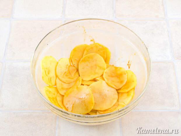 Картофельные чипсы — 2 шаг