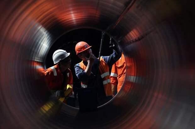 Оператор СП–2 сообщил о завершении первой нитки газопровода