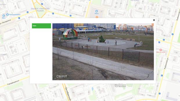 В Зашекснинском районе Череповца заработали первые онлайн-камеры