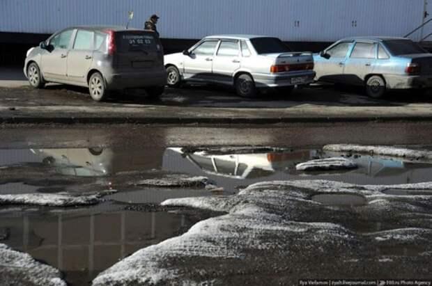Весенние дороги России (18 фотографий), photo:3