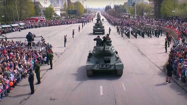 Большой парад Победы пройдет 9 мая в Свердловской области