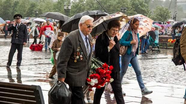 О погоде на День Победы рассказали москвичам