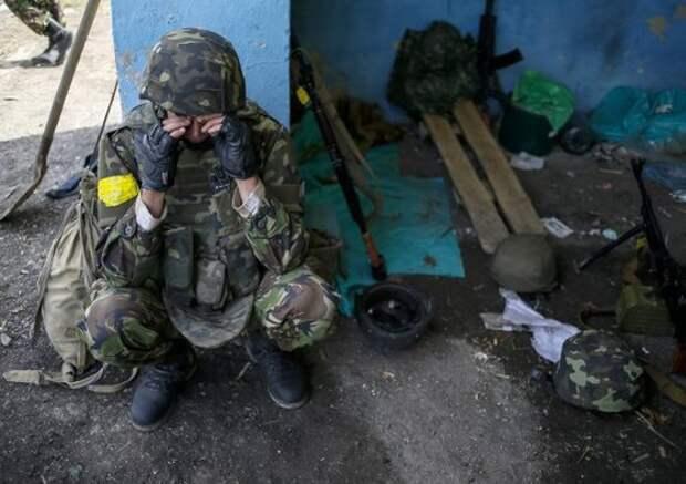 Нетместа ниживым, нимёртвым: наоккупированной Луганщине бунтуют «ветераны АТО» (ФОТО)