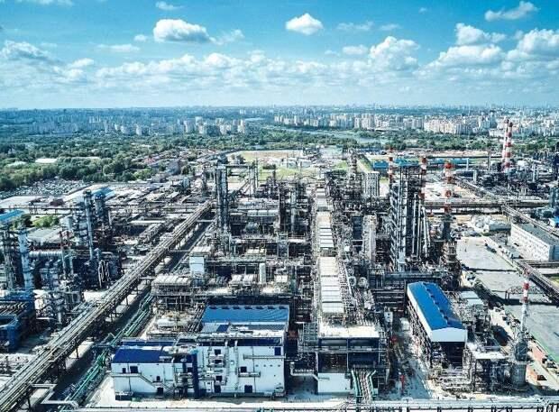 Московский НПЗ – флагман преобразований столичной промышленности. Автор фото Сергей Шинов
