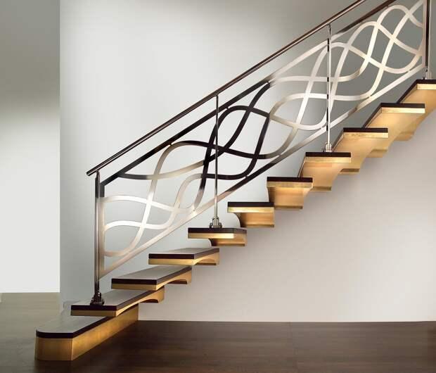 Дизайн коридора на втором этаже в частном доме: фото, описания, стили интерьера (55 фото)
