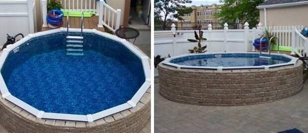 Фото маленьких бассейнов на участке или на даче