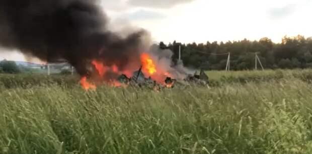 СК возбудил дело после крушения Ми-8 Росгвардии в Ленобласти