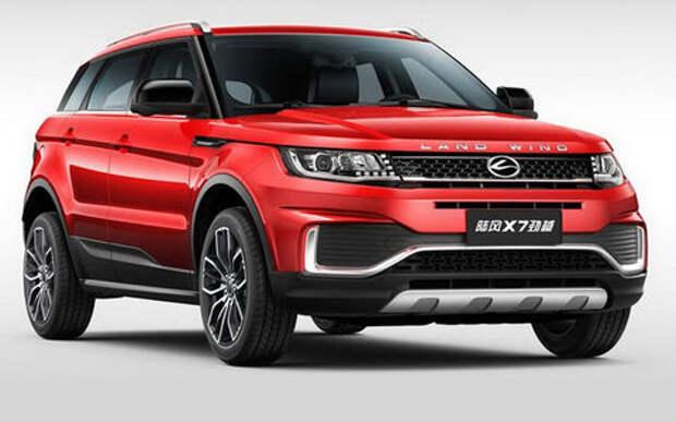 Суд Пекина запретил выпуск китайского клона Range Rover